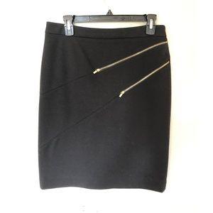 Calvin Klein black mini skirt